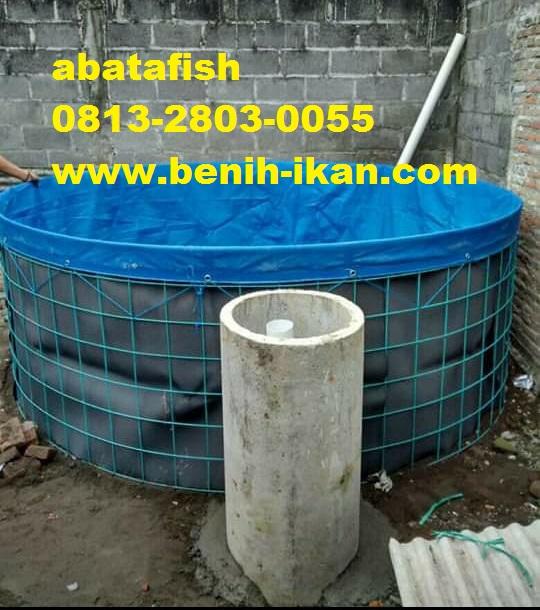 jual kolam terpal bundar bioflok